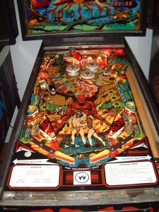 Gorgar: Playfield