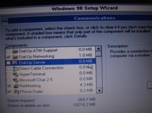 Dial-up Server