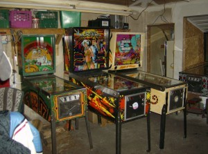 Pinball: Left of Garage