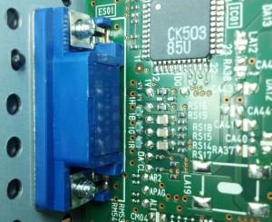 Burnt Resistors