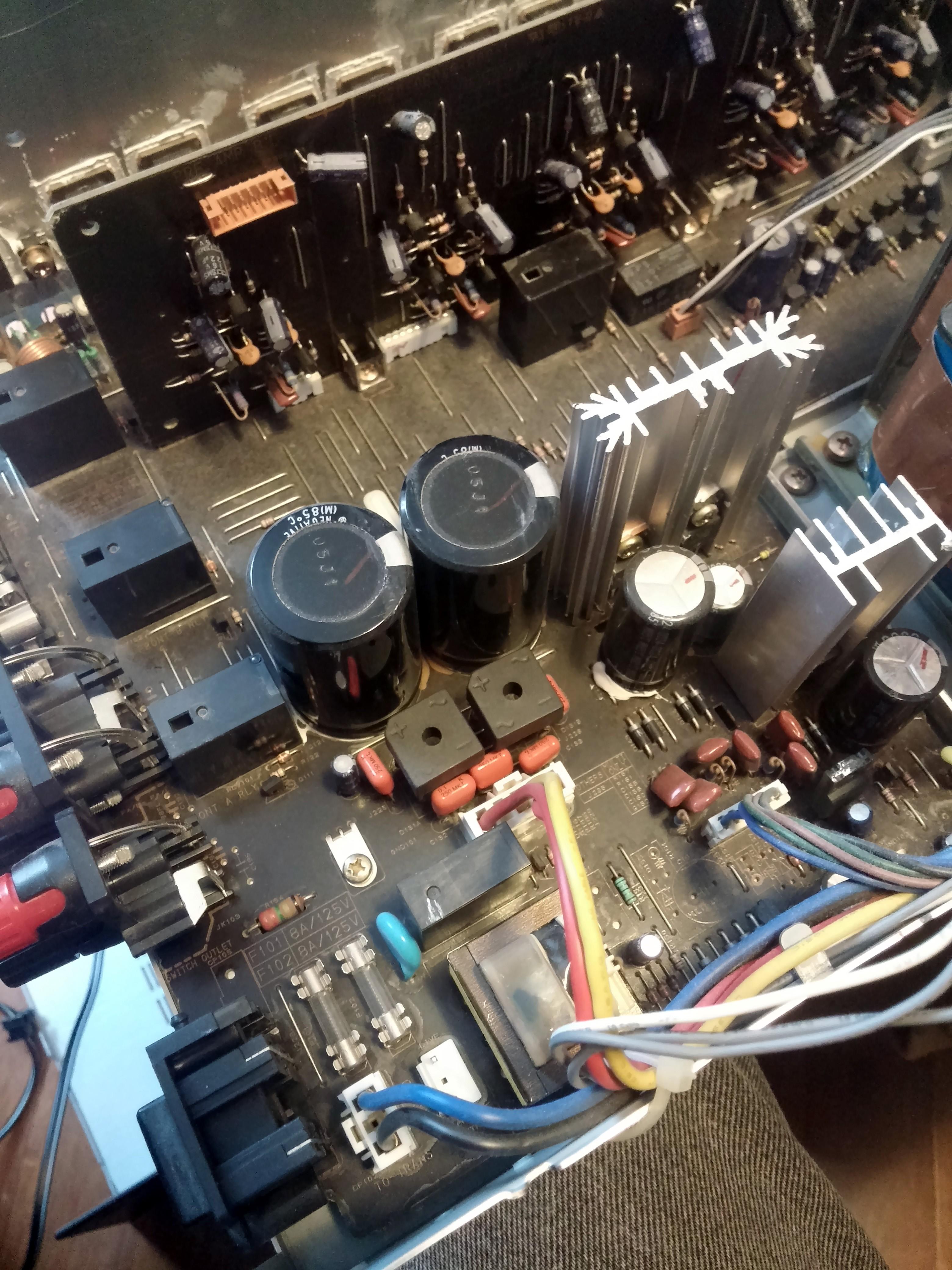 Denon AVR-1801 – Blinking Red Light Repair » Blog – Dan Joannis